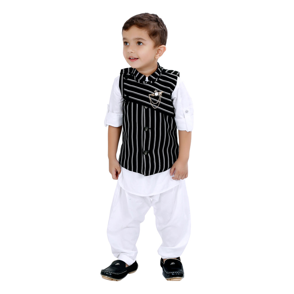 BAD BOYS STYLISH AND COMFORTABLE TRADITIONAL PARTY WEAR SET