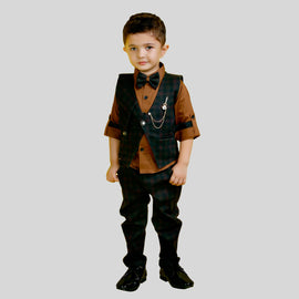 BAD BOYS FASHIONABLE DESIGNER PARTY WEAR OUTFIT FOR BOYS