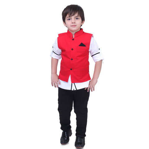 Bad Boys Bestseller Nehru Jacket Set - mashup boys