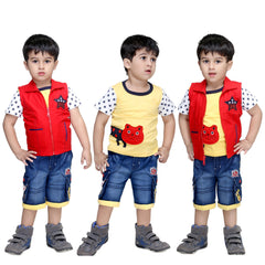 Bad Boys Starry Combo - Pack of 3 - KRAZYLA