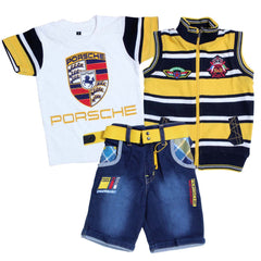 Bad Boys Racer Stripes Combo - Pack of 3 - KRAZYLA