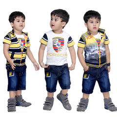 Bad Boys Racer Stripes Combo - Pack of 3 - mashup boys
