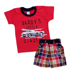 Bad Boys Vintage Tshirt & Shorts Set - KRAZYLA