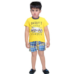 Bad Boys Vintage Tshirt & Shorts Set - mashup boys