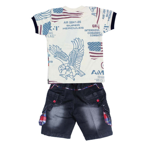 Bad Boys Eagle-print Casual Set - mashup boys