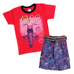 Bad Boys Retro Tshirt & Short Set - KRAZYLA