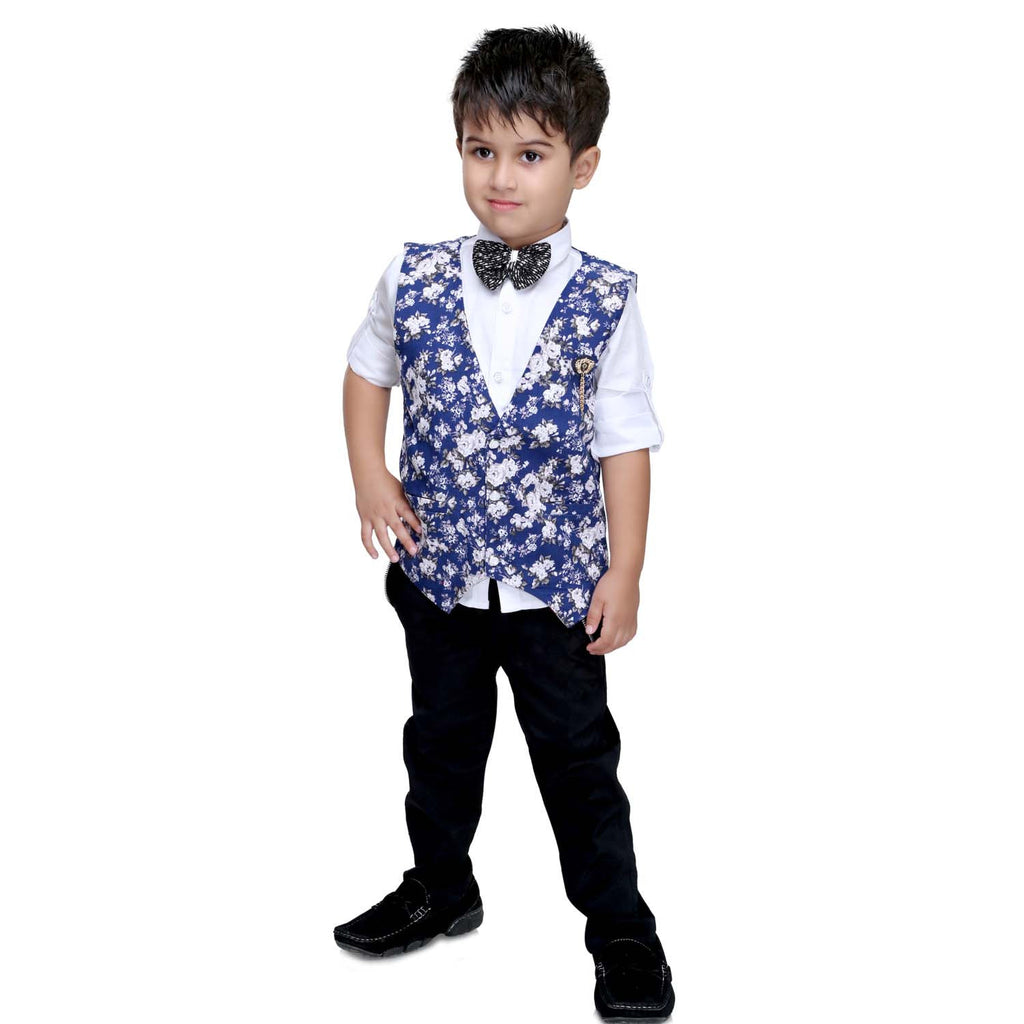 Bad Boys Blue Floral Party Set - mashup boys