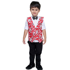Bad Boys Red Floral Party Set - KRAZYLA