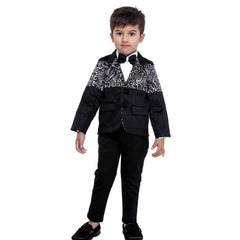 Bad Boys Black Designer Tuxedo Suit - mashup boys