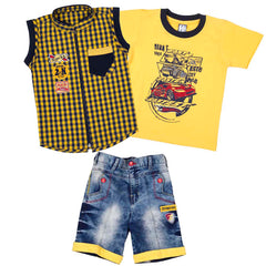 Bad Boys Yellow Racer Set - KRAZYLA