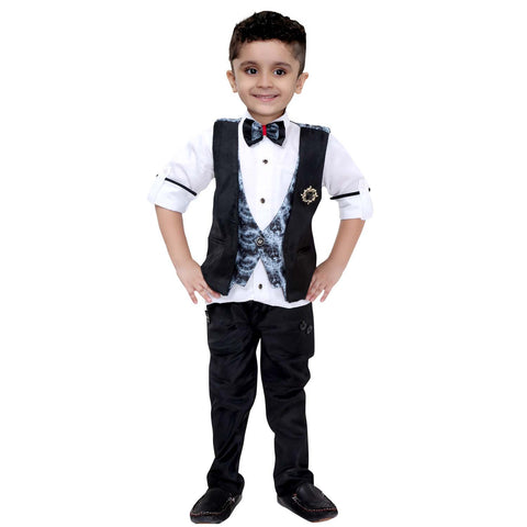 Bad Boys Designer Waistcoat Party Set - mashup boys