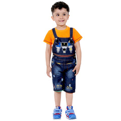 LONDON ¾ DUNGAREE SET - mashup boys