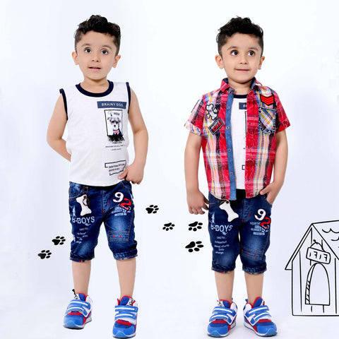 Bad Boys Puppy Love 3-in-1 Casual Set - mashup boys