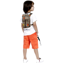 Bad Boys Casual Wear Outfit with Stylish T-shirt and Shorts - MASHUP
