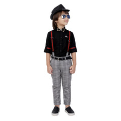 Bad Boys Party outfit suspenders combo set. - mashup boys
