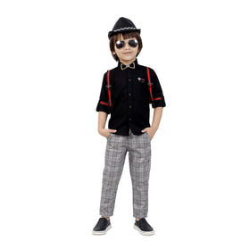 Bad Boys Party outfit suspenders combo set. - KRAZYLA