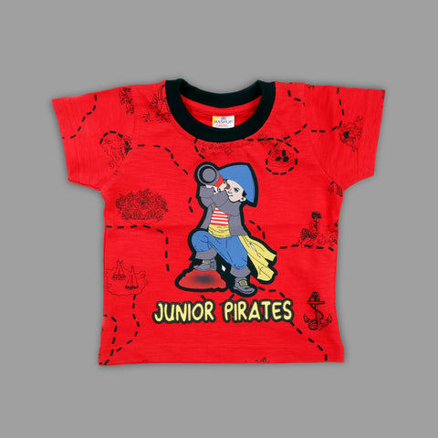 MashUp Junior Stylish and Casual Outfit with T-shirt and bottom