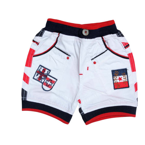Boys Red and White Casual Set - KRAZYLA