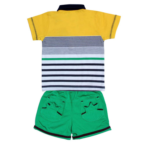 Bad Boys Cool Yellow Combo Set - mashup boys