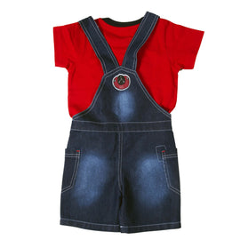 Bad Boys Little Star Dungaree Set - KRAZYLA