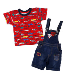 Bad Boys blue dungaree set. - KRAZYLA