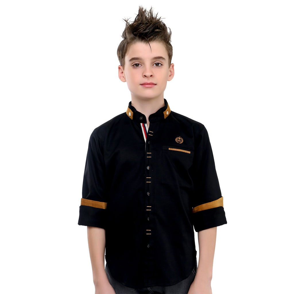 MashUp Designer Black Shirt - mashup boys