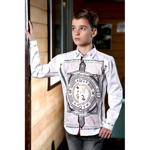 MashUp Mythology Print Shirt - mashup boys
