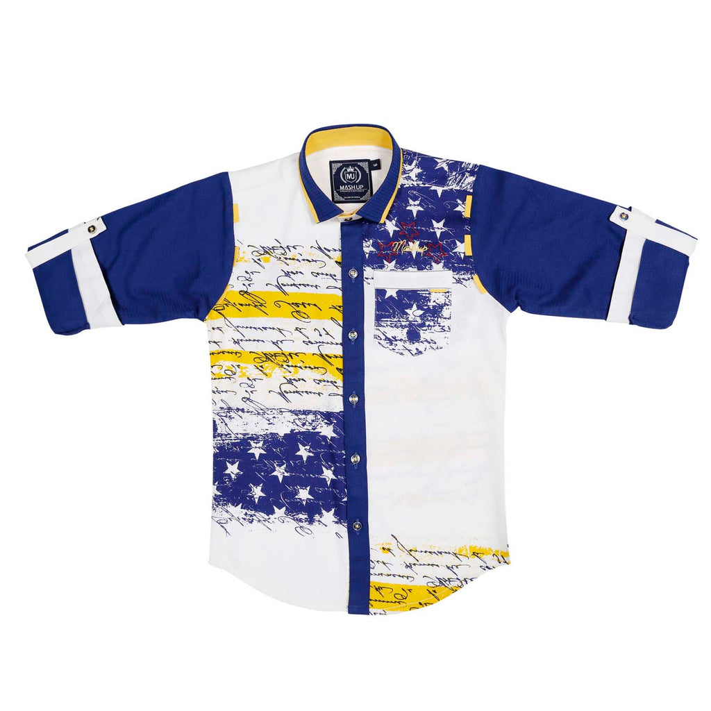 MashUp Stars & Stripes Classic Shirt - mashup boys