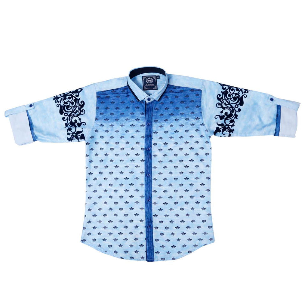 MashUp Fusion Printed Shirt - mashup boys