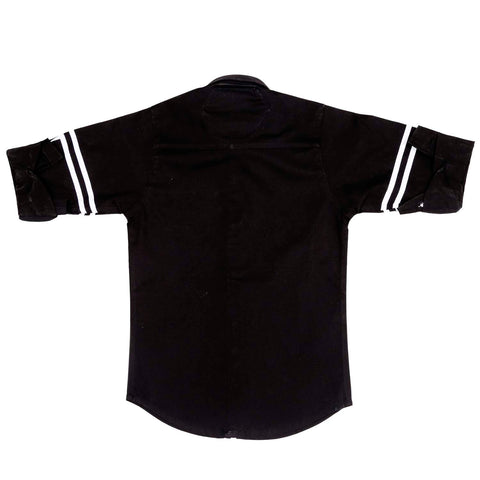 MashUp Trendy Striper Black/Navy Shirt - mashup boys