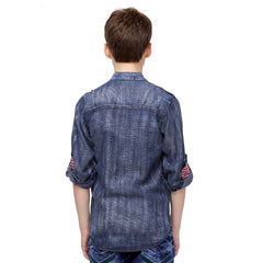 MashUp Denim Casual Shirt - KRAZYLA