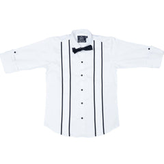 MashUp White Club Wear Shirt - KRAZYLA