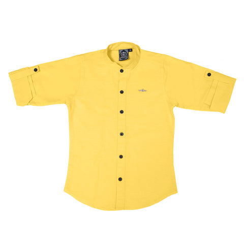 Mashup Mandarin Collar Shirt - mashup boys