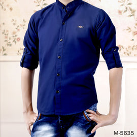 Mashup Mandarin Collar Shirt
