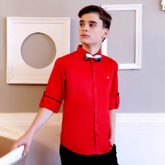 Mashup Classic Red Shirt - mashup boys