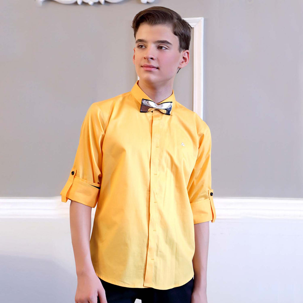Mashup Classic Yellow Shirt - mashup boys