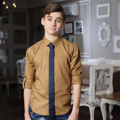 Mahup Black Satin Club wear Shirt - mashup boys