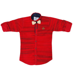 MashUp Striped Red Shirt - mashup boys