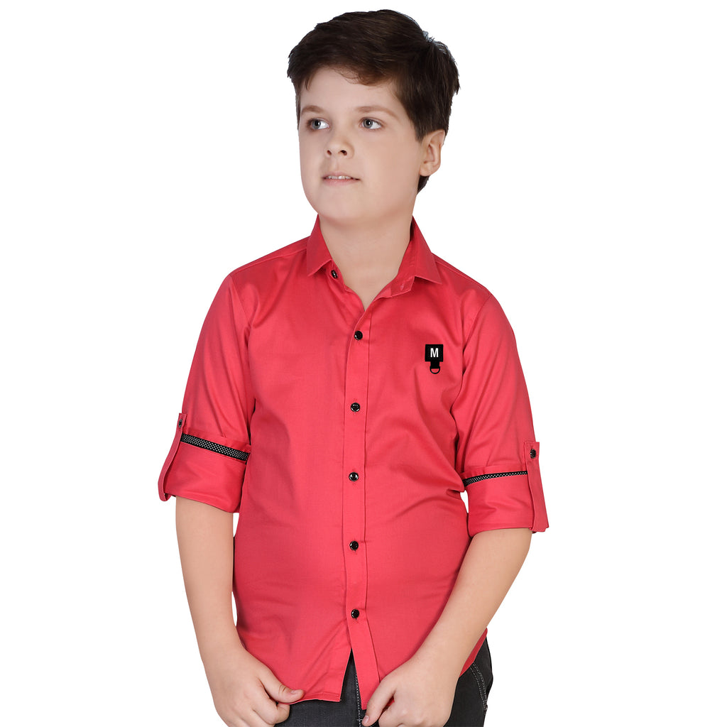MashUp Pink Casual Shirt - mashup boys