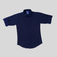 MashUp Classic navy shirt for Young boys