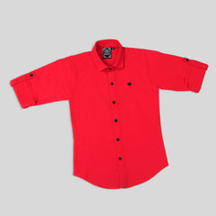MashUp Classic Red Shirt for Young boys