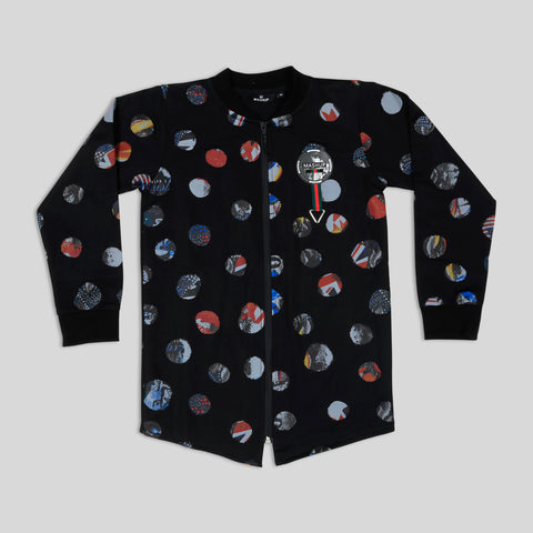 MashUp stylish printed Bomber jacket set for Young boys