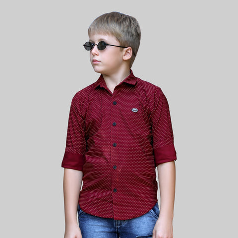 MashUp Stylish  and Comfortable Cotton Stretch Lycra shirt.