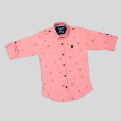 MashUp Imported Lycra Printed shirt for Young boys