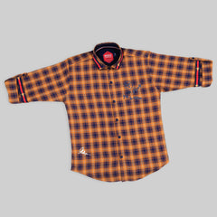 MashUp Elegant Checkered Cotton shirt
