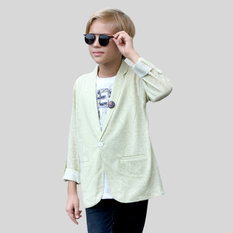 MashUp Fashionable Shrug Set for Young boys