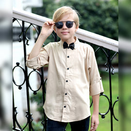 MashUp Classic Shirt & BowTie for Young boys