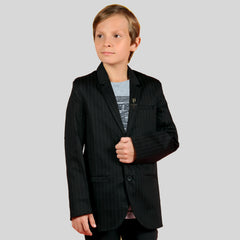 PARTY WEAR BLACK COTTON SUITING
