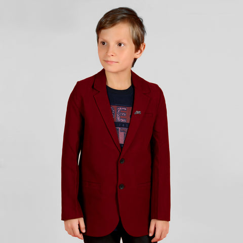 ELEGANT AND COMFORTABLE MAROON COTTON SUITING