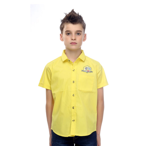 MashUp Classic Casual Cotton Shirt - mashup boys